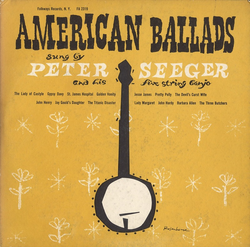 Image 1 for American ballads sound recording / sung by Pete Seeger