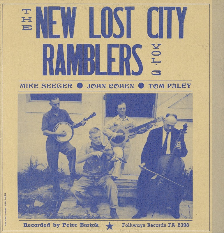 Image 1 for The New Lost City Ramblers. Vol. 3 sound recording / recorded by Peter Bartok