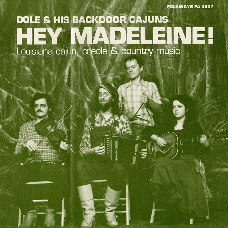 Image 1 for Hey Madeleine! : Louisiana cajun, creole and country music sound recording