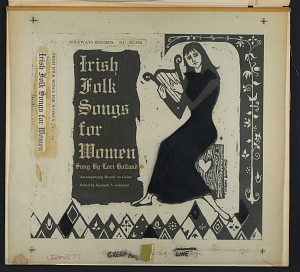 images for Irish folk songs for women sound recording / sung by Lori Holland ; edited by Kenneth S. Goldstein-thumbnail 3