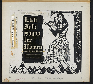 images for Irish folk songs for women sound recording / sung by Lori Holland ; edited by Kenneth S. Goldstein-thumbnail 4