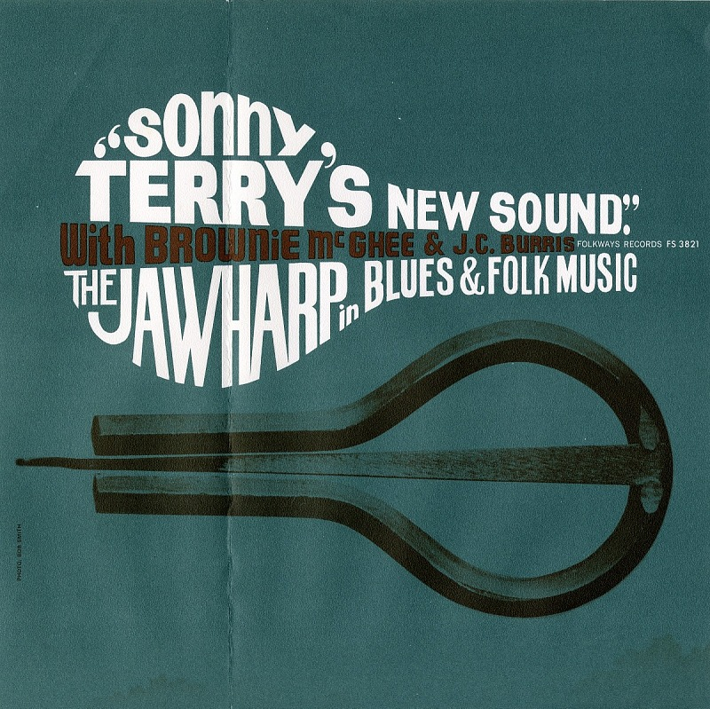 Image 1 for Sonny Terry's New Sound sound recording : The Jawharp in Blues and Folk Music / with Brownie McGhee and J. C. Burris