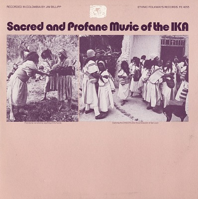 Sacred and profane music of the Ika [sound recording] / recorded by Jim Billipp