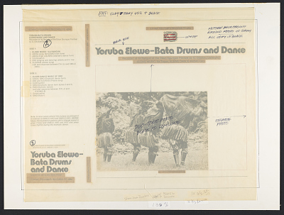 Yoruba Bata dums [sound recording] : Elewe music and dance / recorded ... by G. Odukwe Sackeyfio
