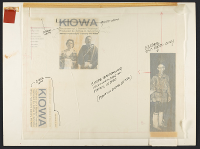 Kiowa [sound recording] / recorded by J. Gordon Thornton ; Althea H. Sylverne, producer