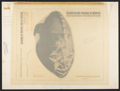 Drums of the Yoruba of Nigeria [sound recording] / recorded by William Bascom