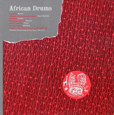 African and Afro-American drums [sound recording] / edited by Harold Courlander