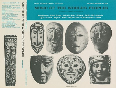 Music of the world's peoples, vol. 1 [sound recording] / edited by Henry Cowell