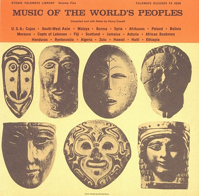Music of the world's peoples. Vol. 5 [sound recording] / selected by Henry Cowell