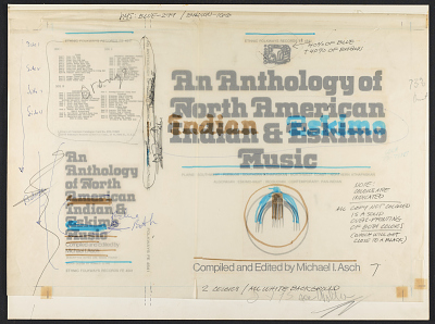 An anthology of North American Indian and Eskimo music [sound recording] / compiled and edited by Michael I. Asch