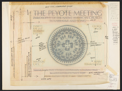 Kiowa Peyote Meeting [sound recording]