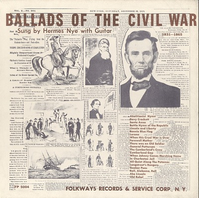 Ballads of the Civil War - Vol. 2, 1861-1865 [sound recording]