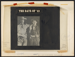 The days of '49 [sound recording] : songs of the gold rush / sung by Logan English ... Billy Faier