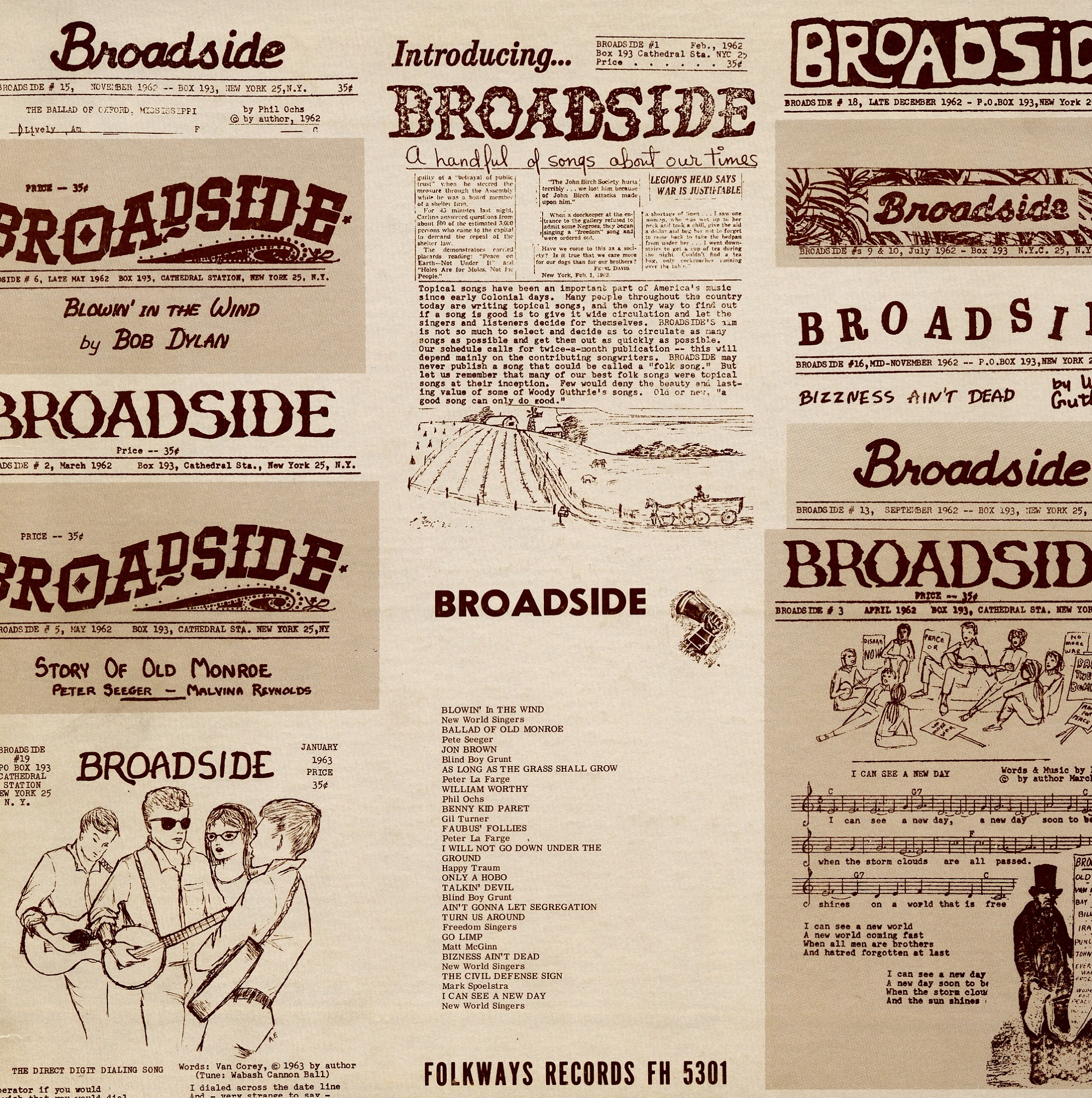 Image for Broadside ballads. Vol. 1 sound recording