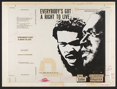 Everybody's got a right to live [sound recording] : our king will never die / [words and music by Jimmy Collier and Frederick Douglas Kirkpatrick.]