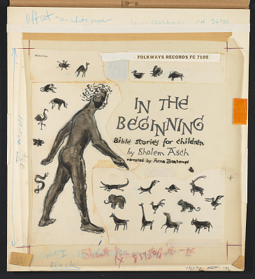 In the Beginning: Bible Stories for Children by Sholem Asch [sound recording]