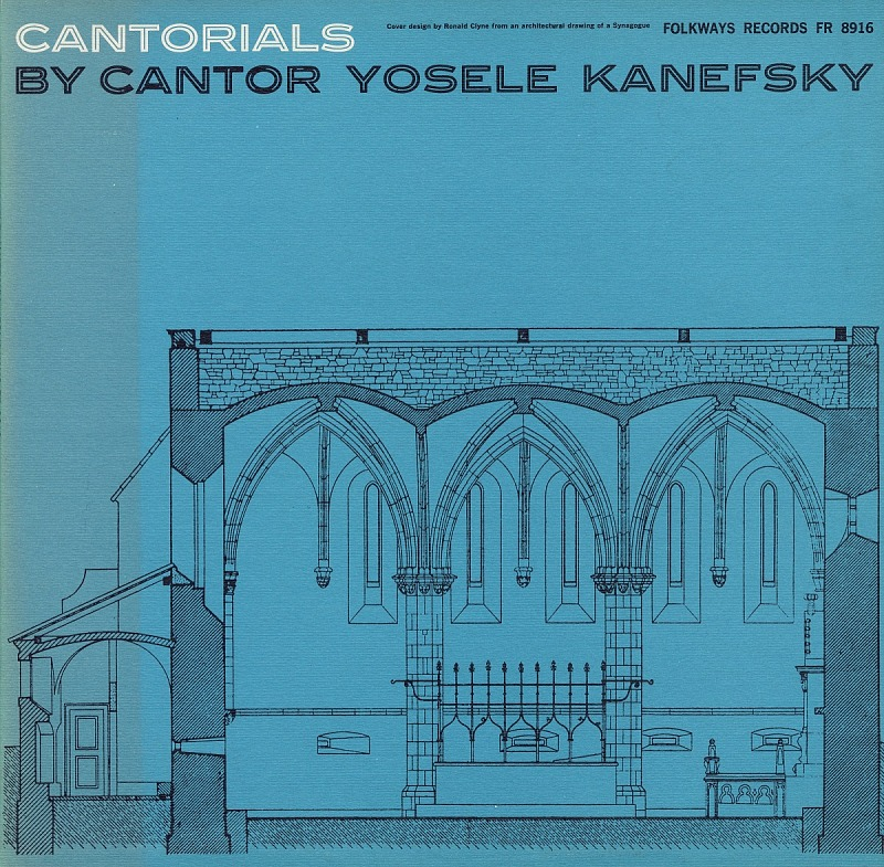 Image for Cantorials sound recording / sung by cantor Yosele Kanefsky
