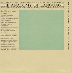 The anatomy of language [sound recording] / written and narrated by Morris Schreiber