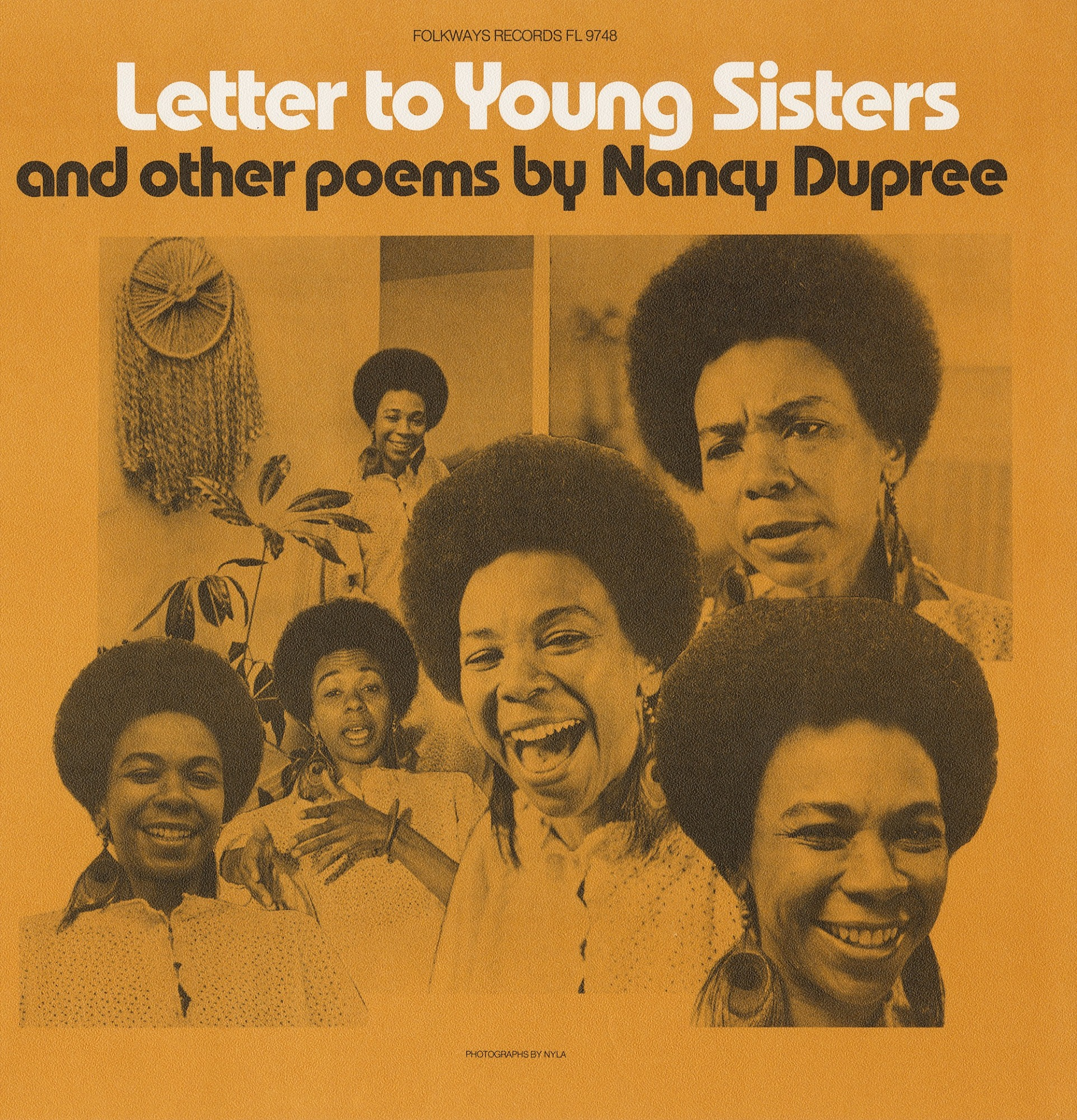 Image 1 for Letter to young sisters and other poems sound recording / by Nancy Dupree
