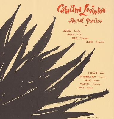 Catalina Levinton [sound recording] : recital poetico