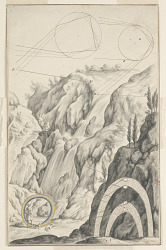 Study for The Investigation of the Rainbow, Plate 66, Physica Sacra