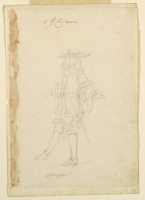 Costume Design: A Frenchman for a Ballet