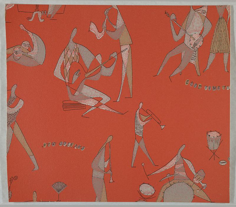 Image for Kunstler Tapeten: Jazz 3