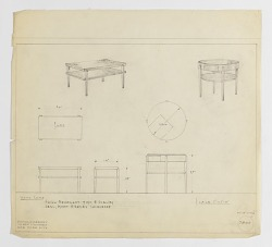 Two Designs for End Tables: Rectangular and Round