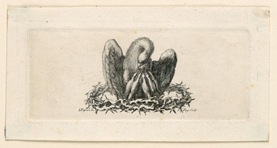 Vignette, The Pelican in the Crown of Thorns