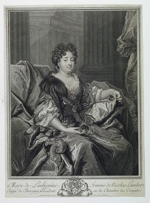 Portrait of Madame Lambert (Marie de Laubespine)