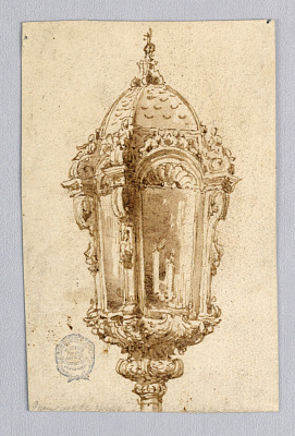 Design for a Lantern on a Gondola