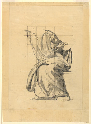 Drapery Study for Figure of Peace in