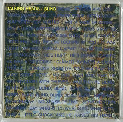 Talking Heads: Blind