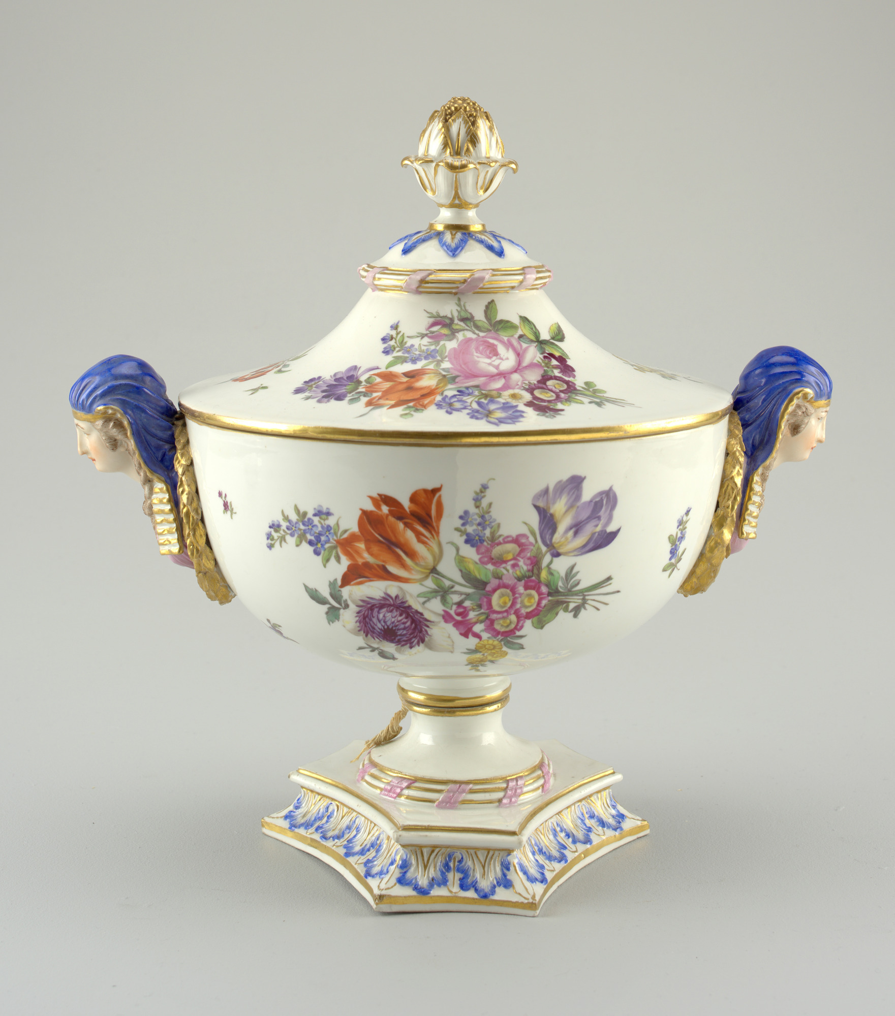 images for Tureen and lid