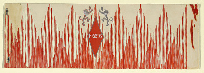 Design for Product Label, Higgins