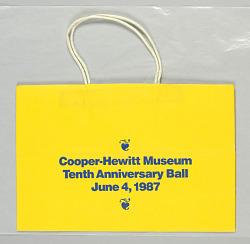 Cooper-Hewitt Museum: Tenth Anniversary Ball
