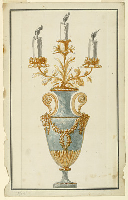 Design for a Candelabrum