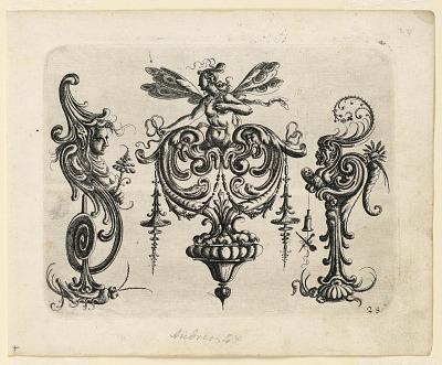 Plate 28, from Neüw Grotteßken Buch (New Grotesque Book)