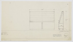Design for Display Rack for Printed Materials with Cabinets