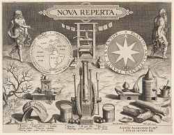 "Title page of ""Nova Reperta"""
