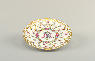Plate with Monogram
