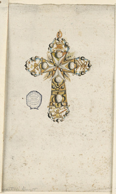 Design for a Maltese Cross Pendant
