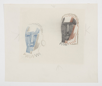 Two Studies of an Abstracted Head