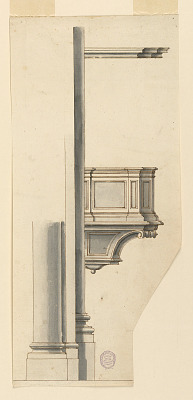 Project: A pulpit shown in profile
