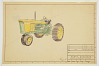 thumbnail for Image 1 - Design for a Tractor