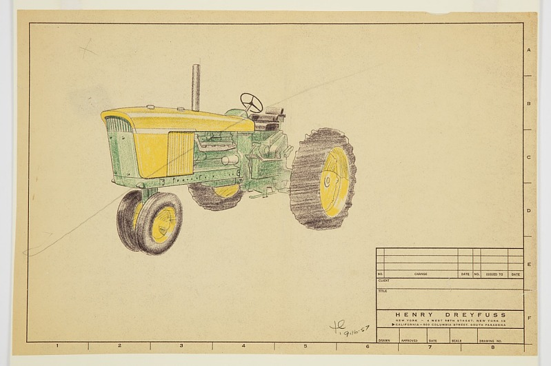 Image 1 for Design for a Tractor