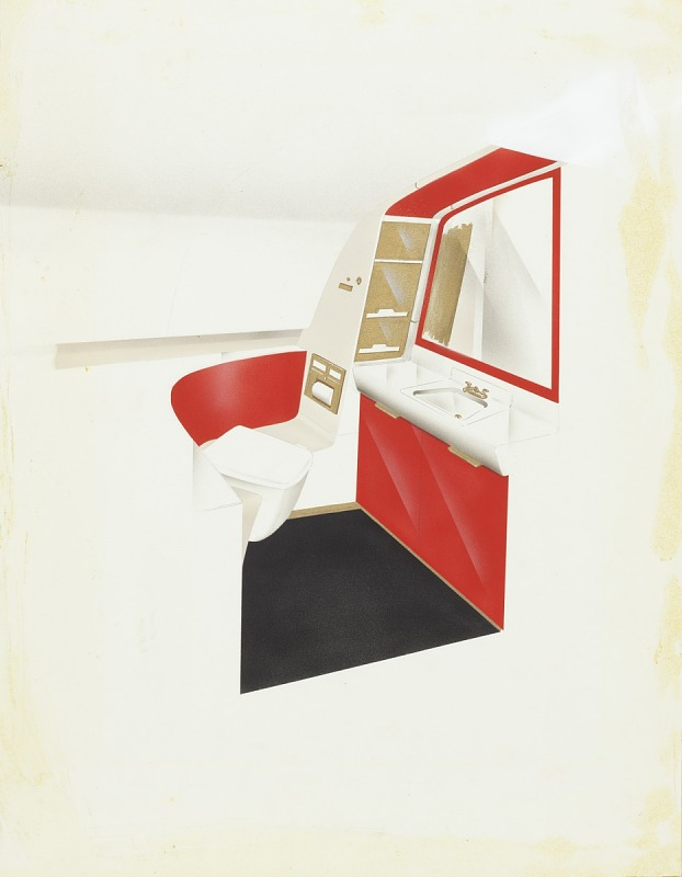 Image for Design for Convair 880 Airplane Lavatory
