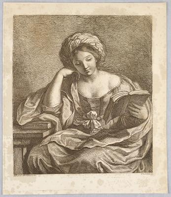 A Sybil, with a Book