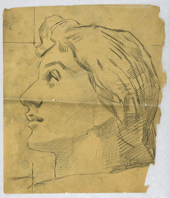 Sketch of a Woman's Head