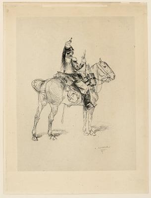 Tompette de chasseur a cheval